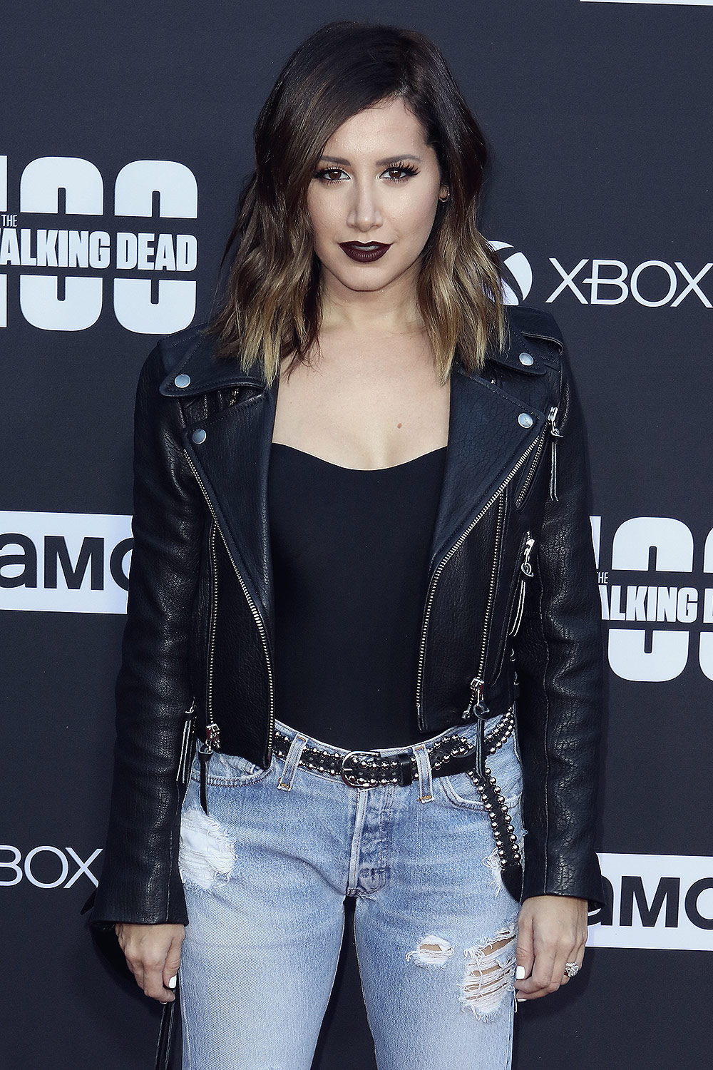 Ashley Tisdale attends The Walking Dead Season Premiere Event