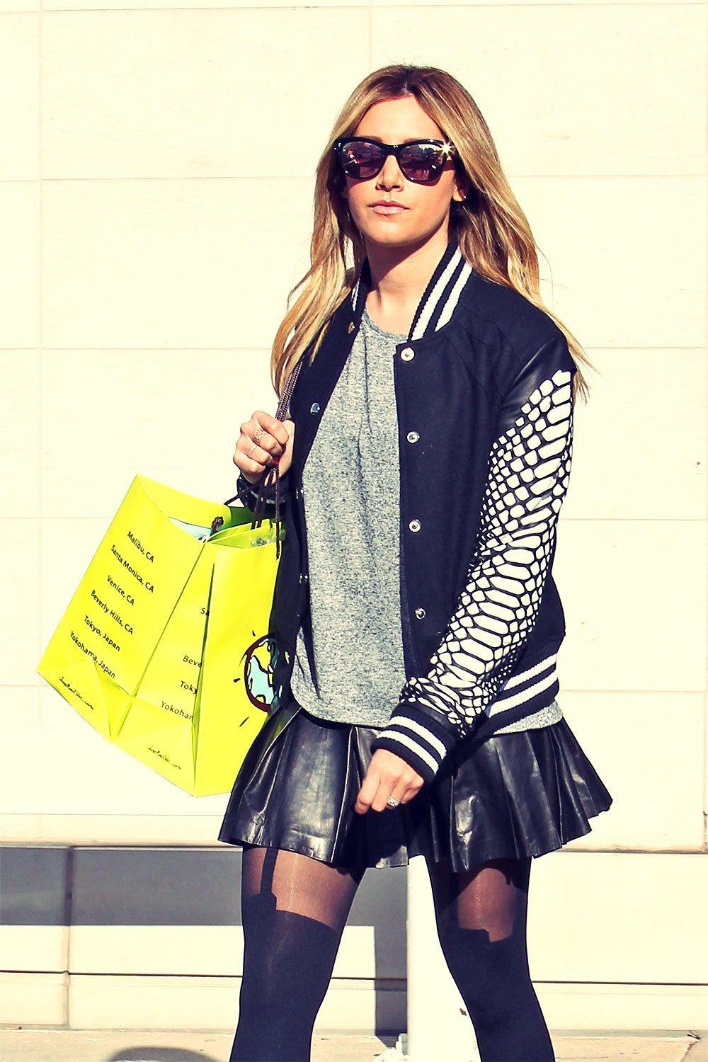 Ashley Tisdale holiday shopping in LA