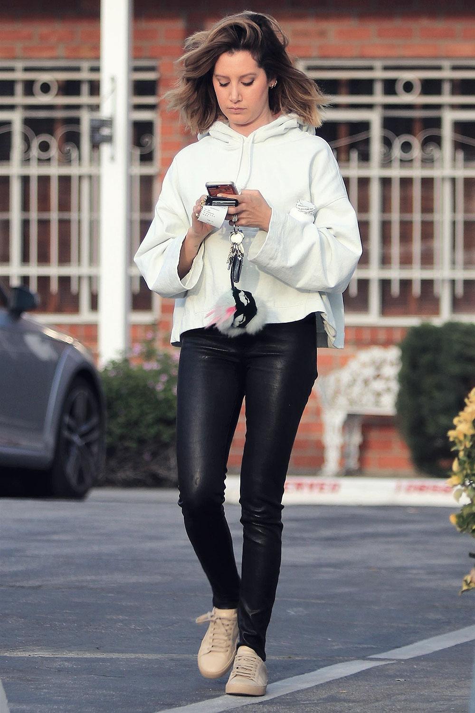 Ashley Tisdale running errands in LA