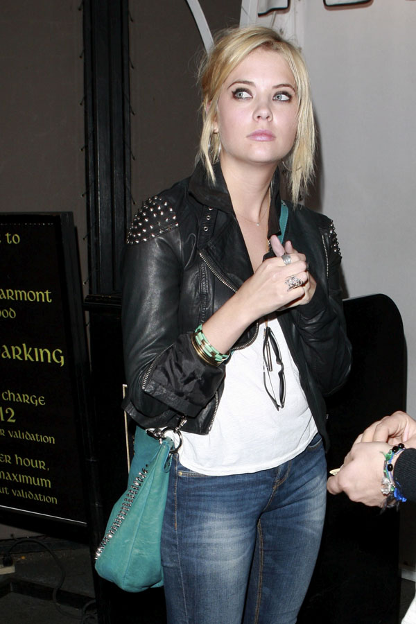 Ashley Benson at Chateau Marmont Hotel