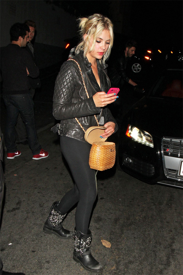 Ashley Benson at Chateau Marmont