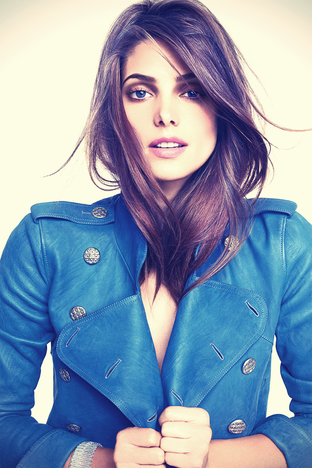 Ashley Greene for Marie Claire
