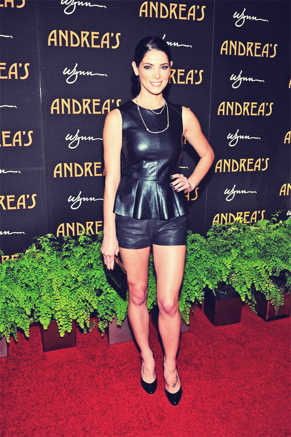 Ashley Greene attends Andrea's Grand Opening