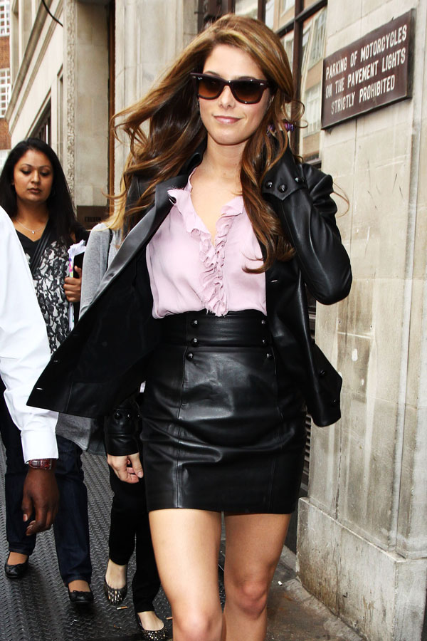Ashley Greene at BBC Radio One