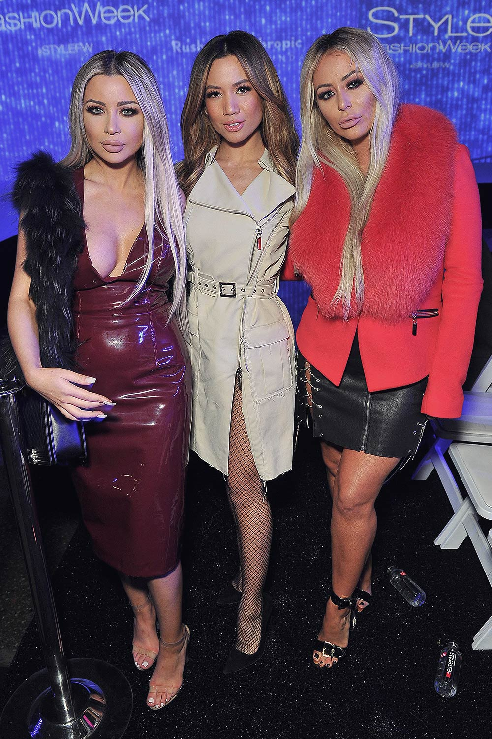 Aubrey O'Day attends the debut of Thomas Wylde's 'Warrior II' collection