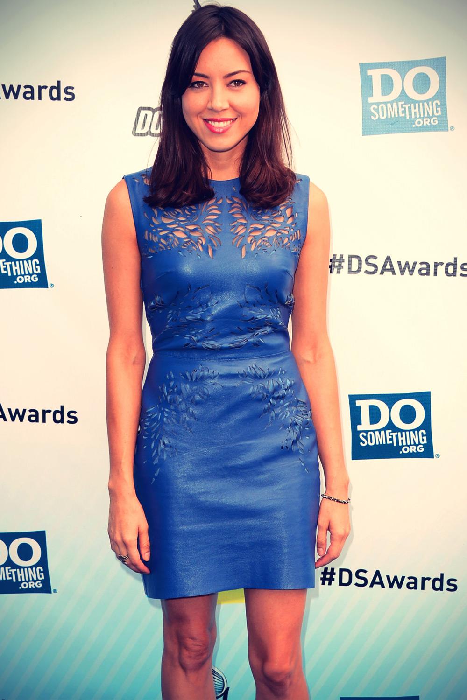 Aubrey Plaza at 2012 Do Something Awards