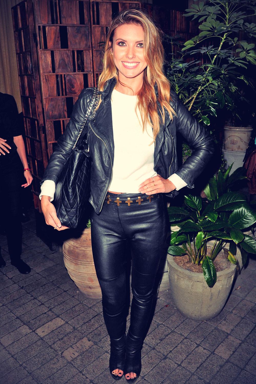Audrina patridge leather jacket