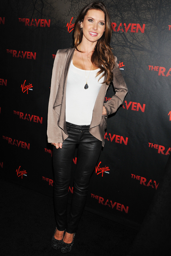Audrina Patridge at The Raven screening
