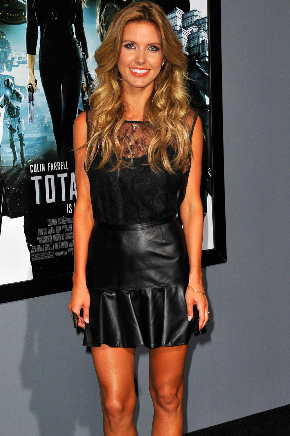 Audrina Patridge at premiere of Total Recall
