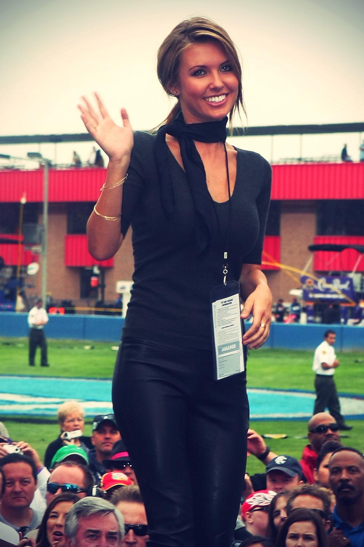 Audrina Patridge at NASCAR Sprint Cup Series