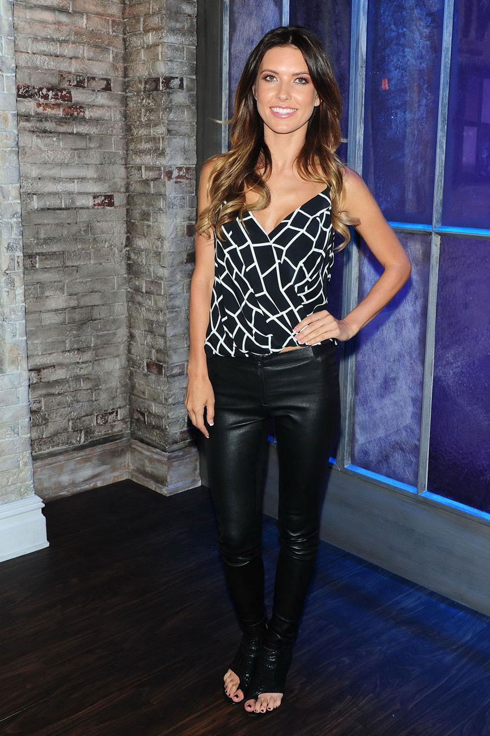 Audrina Patridge attends VH1 Big Morning Buzz