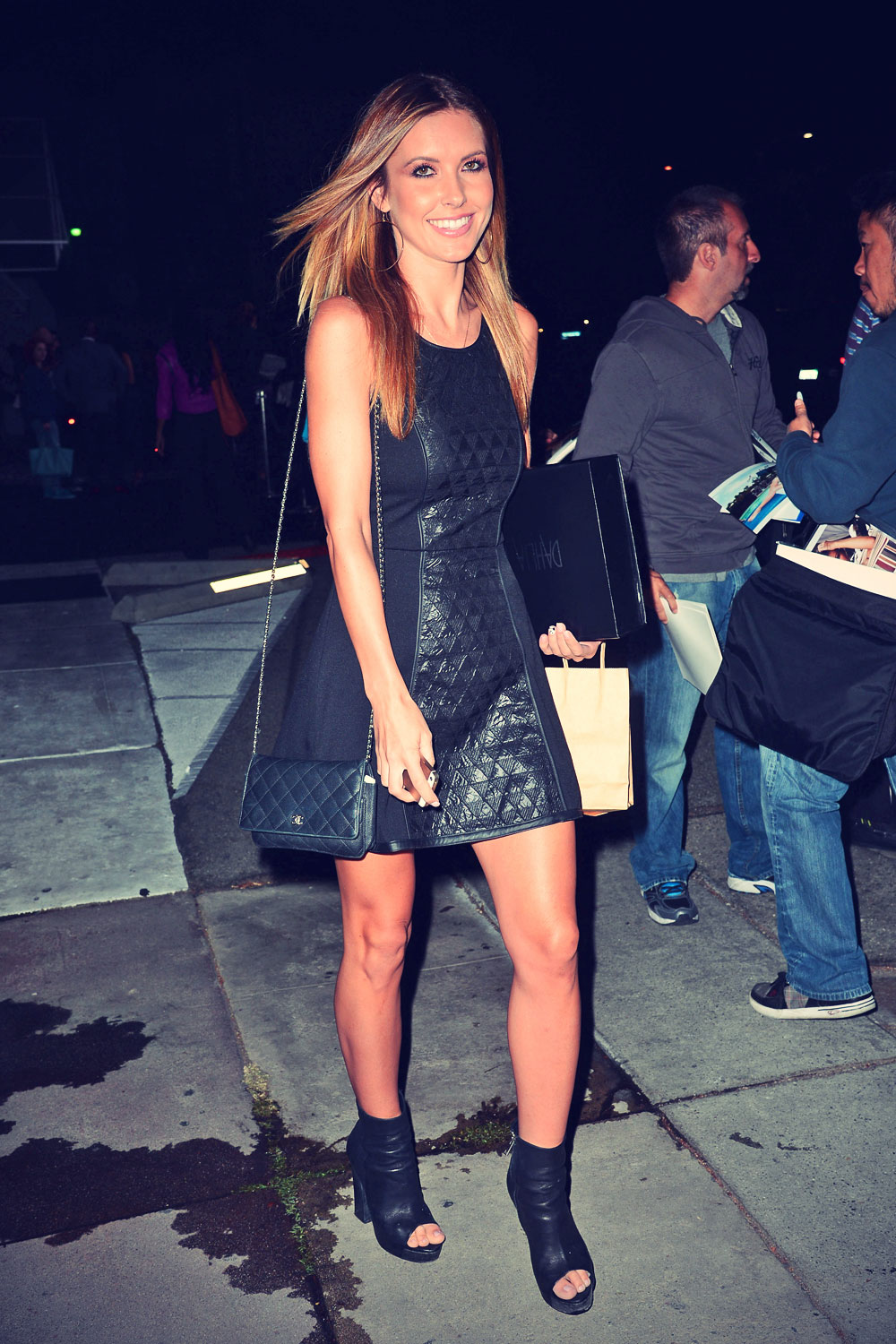 Audrina Patridge leaves a Party in West Hollywood