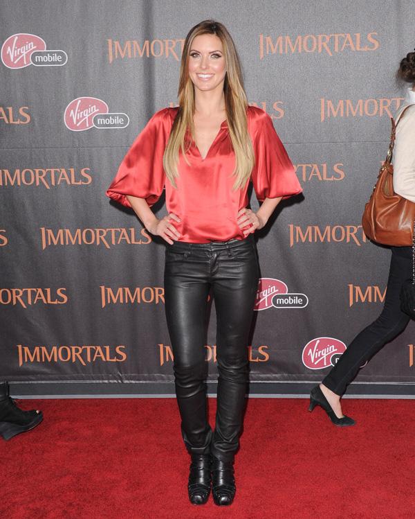 Audrina Patridge at Immortals Premiere