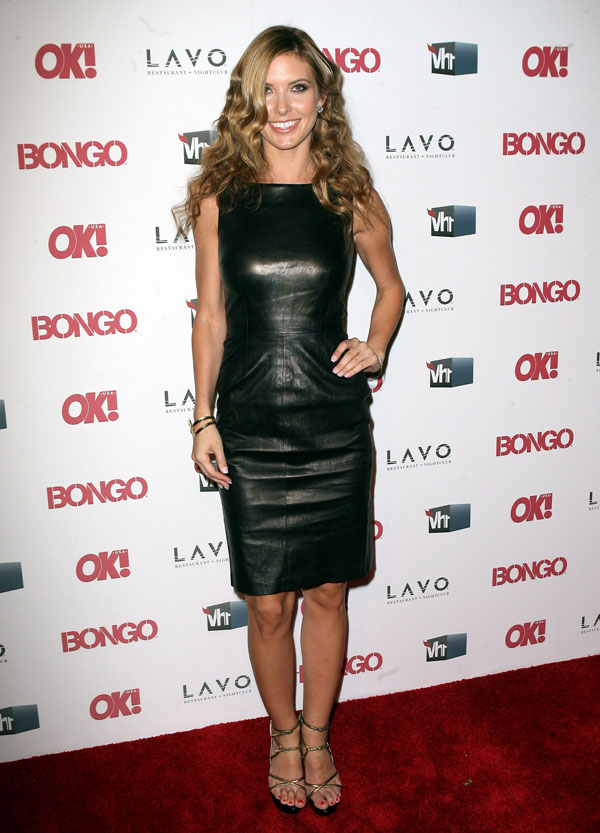 Audrina Patridge at OK Magazines celebration of Hollywoods Sexiest Singles party in NYC