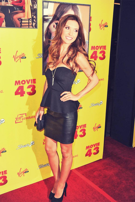Audrina Patridge attends Movie 43 premiere