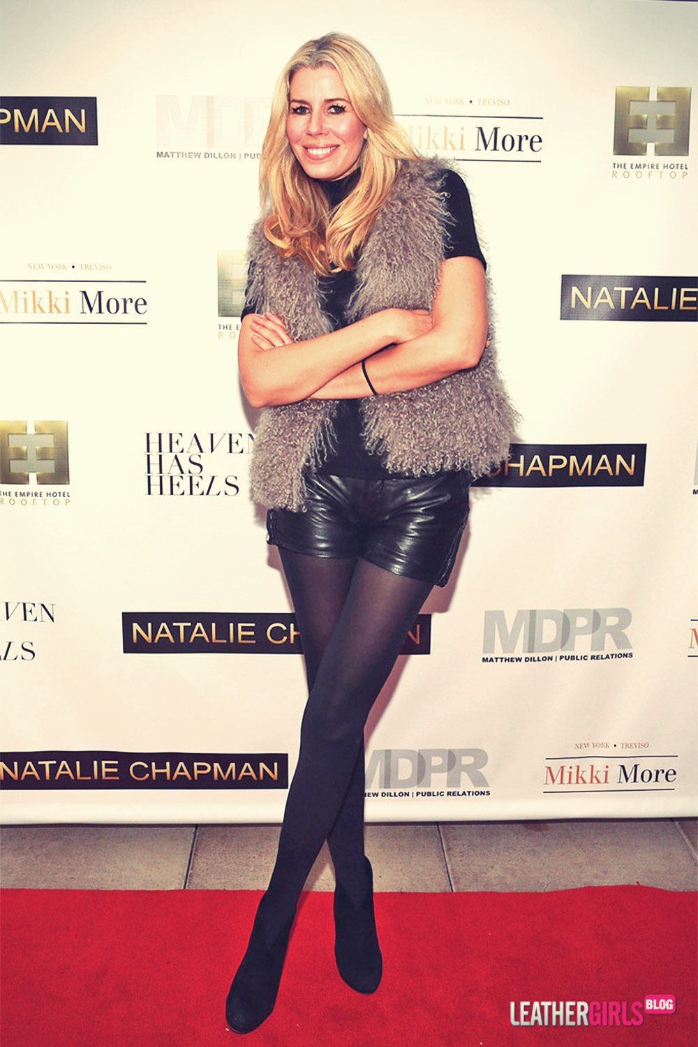 Aviva Drescher attends Natalie Chapman Fall 2013 Ready To Wear Presentation