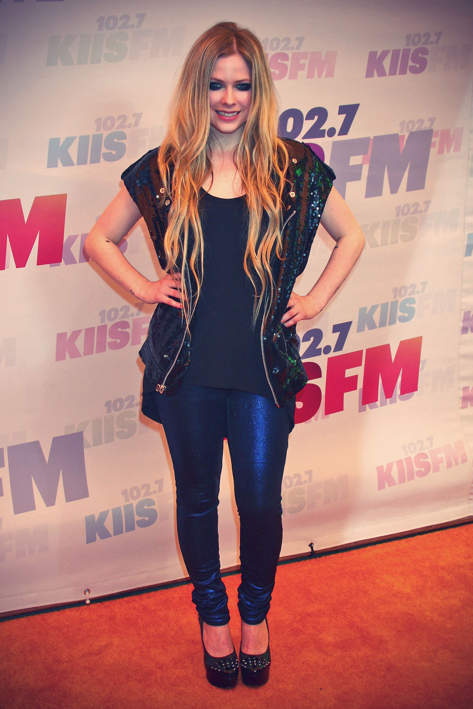 Avril Lavigne attends 102.7 KIIS FM's Wango Tango