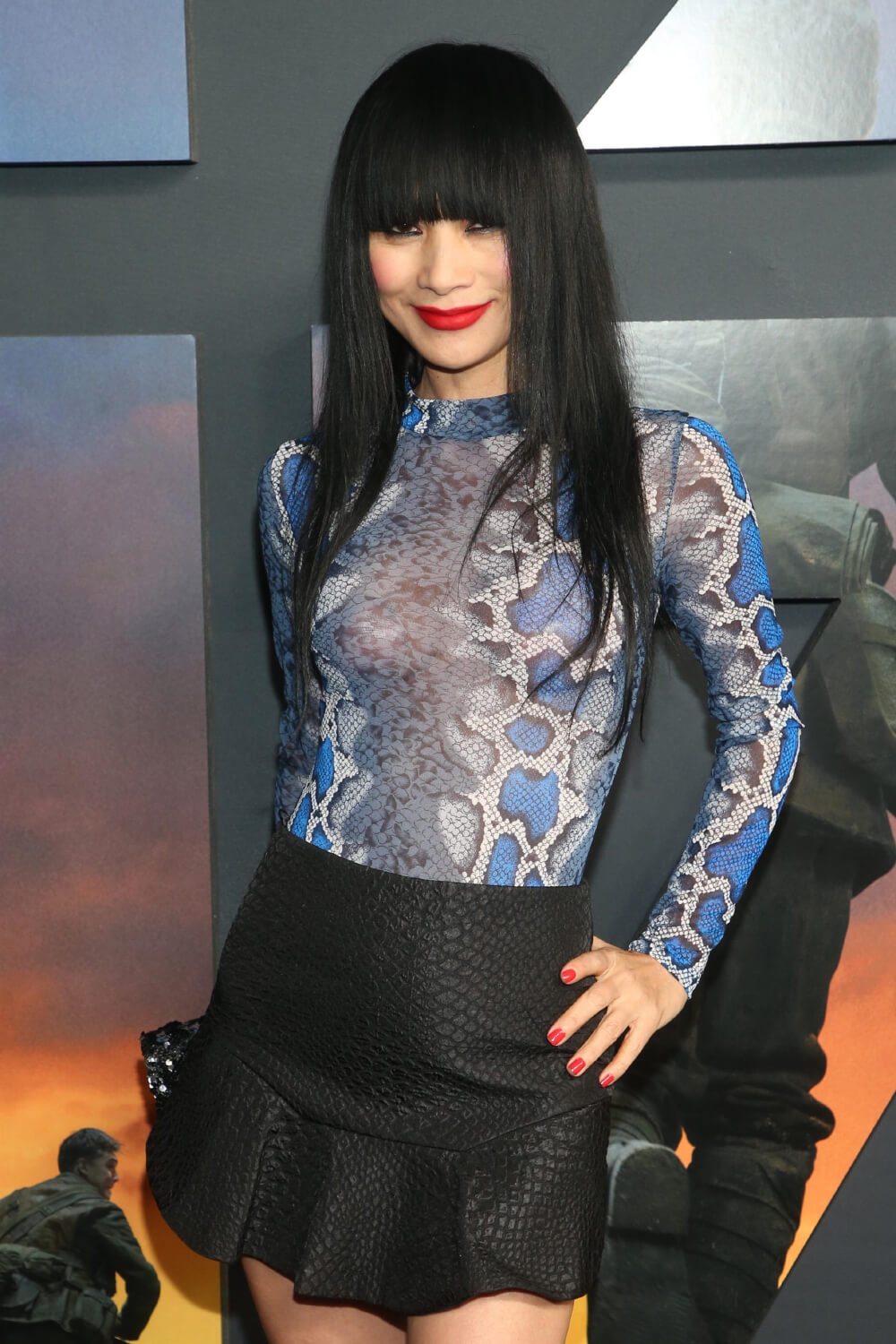 Bai Ling attends Premiere of Universal Pictures' '1917'