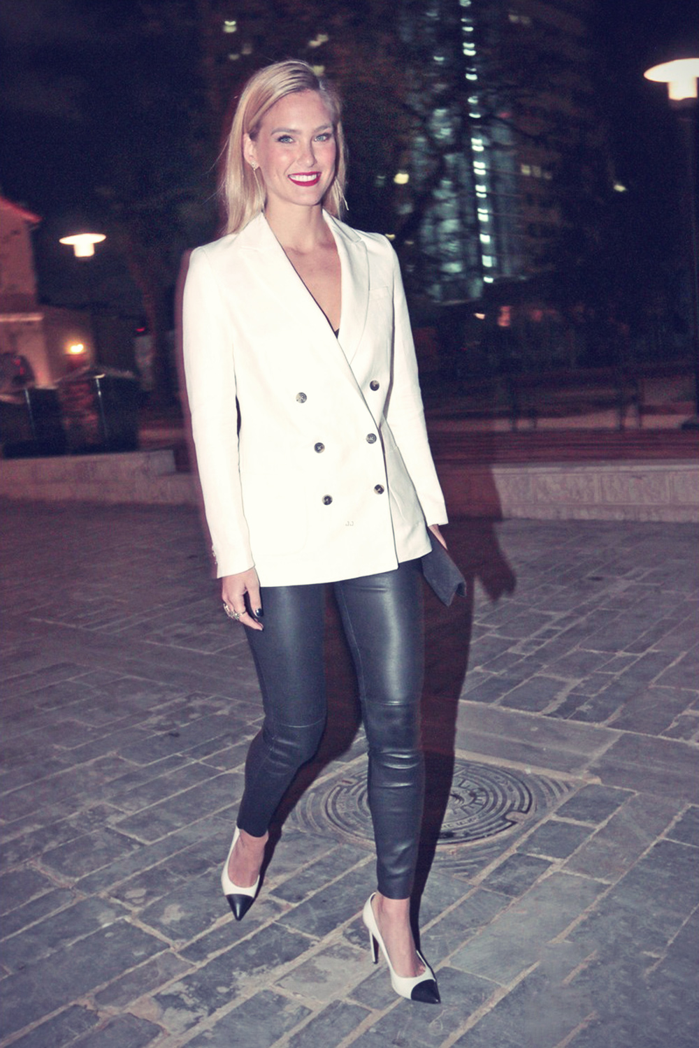 Bar Refaeli at the opening of Tommy Hilfiger store