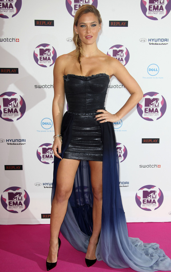 Bar Refaeli at MTV Europe Music Awards 2011