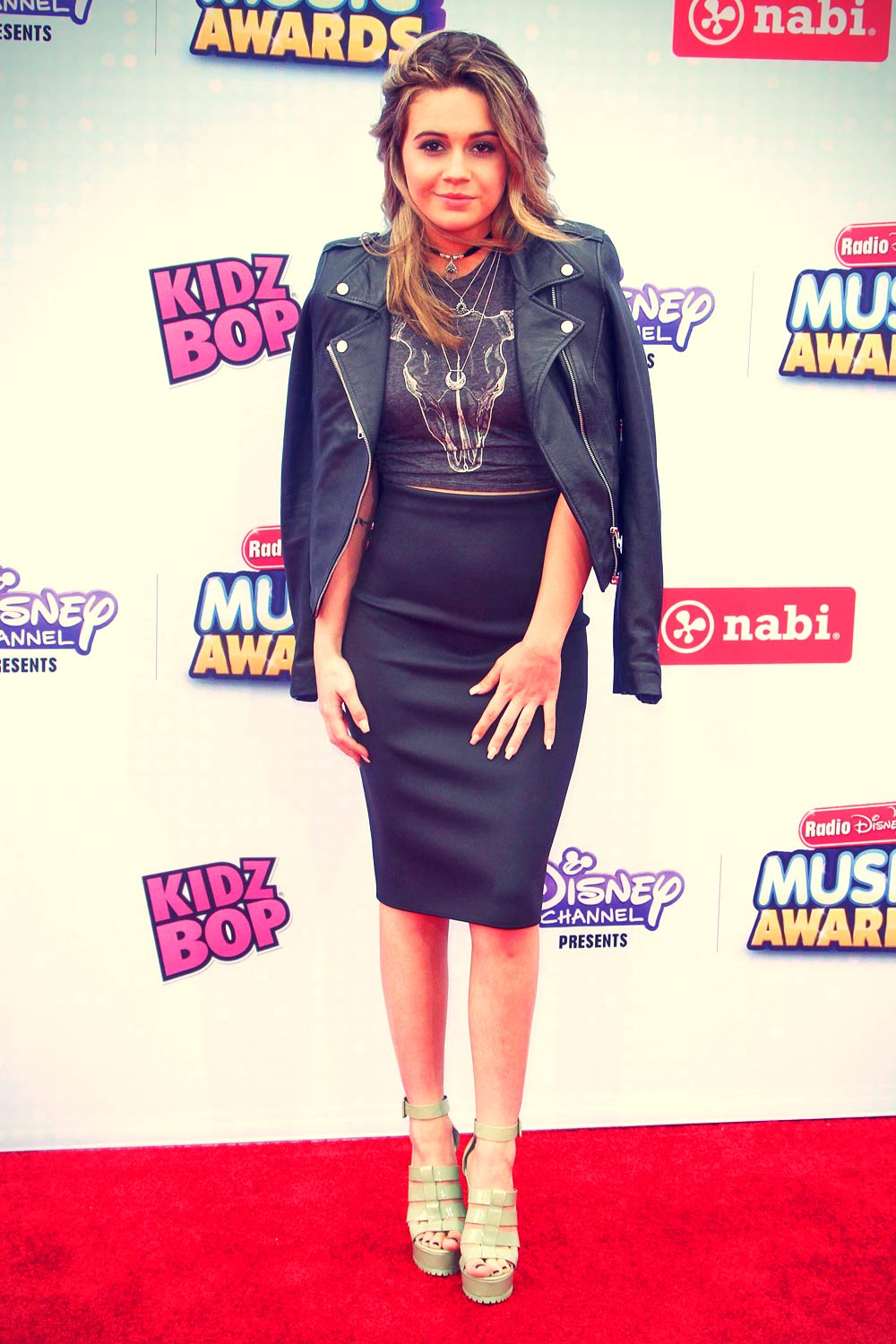 Beatrice Miller attends 2015 Radio Disney Music Awards