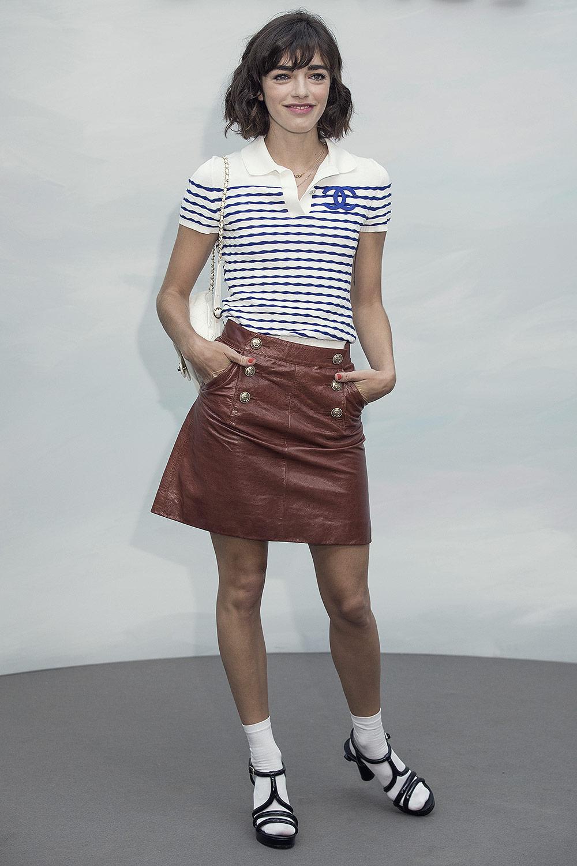 Belen Chavanne attends Chanel show
