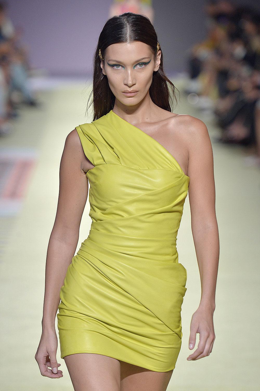 Bella Hadid at Versace Fashion Show
