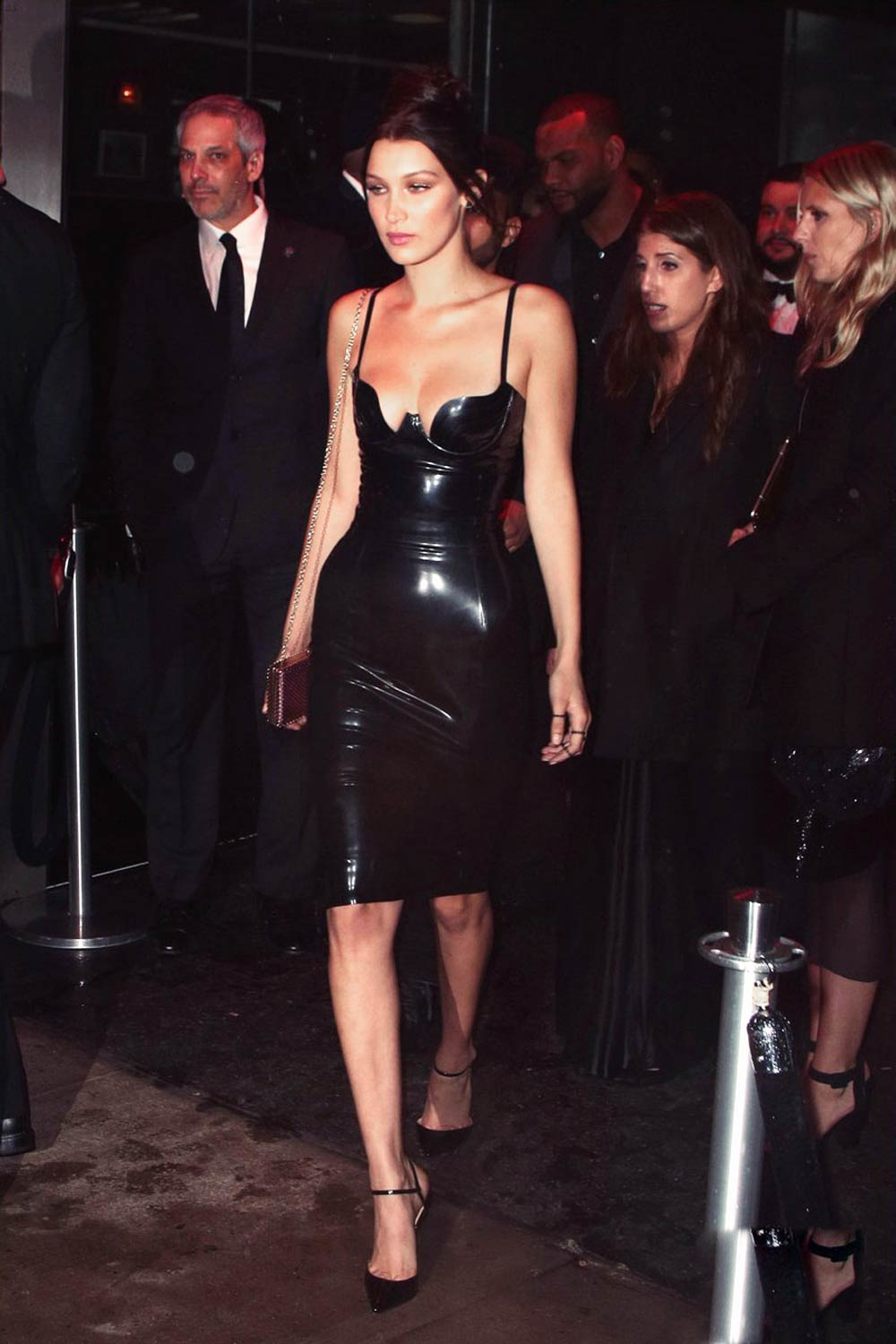 Bella Hadid Heads To The 2016 Met Gala After Parties
