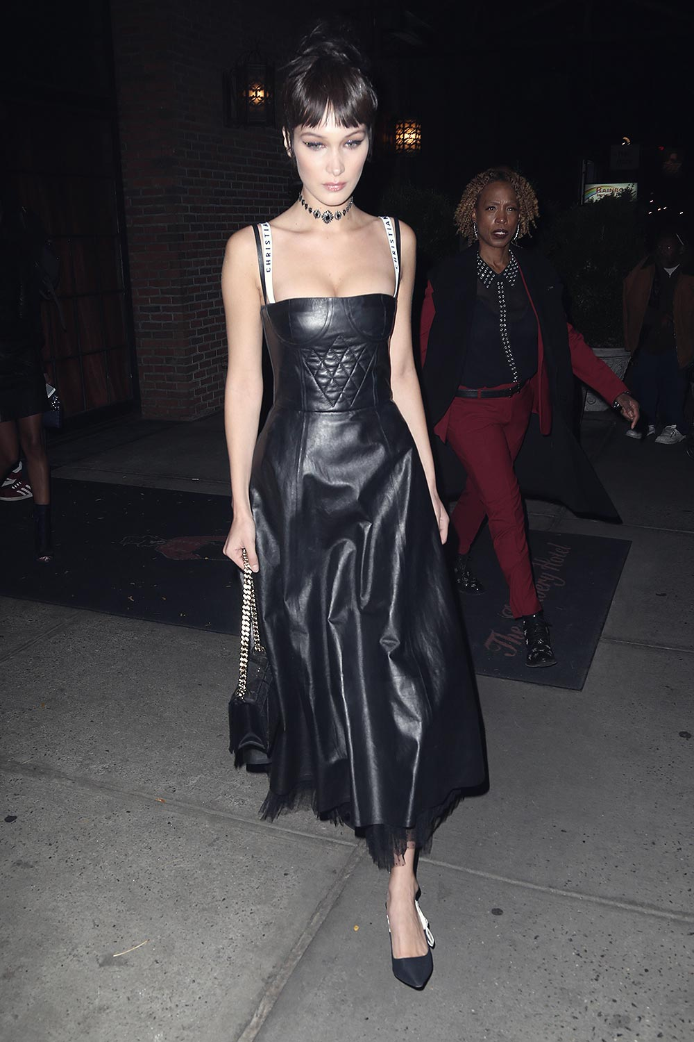 Bella Hadid seen out and about in NYC