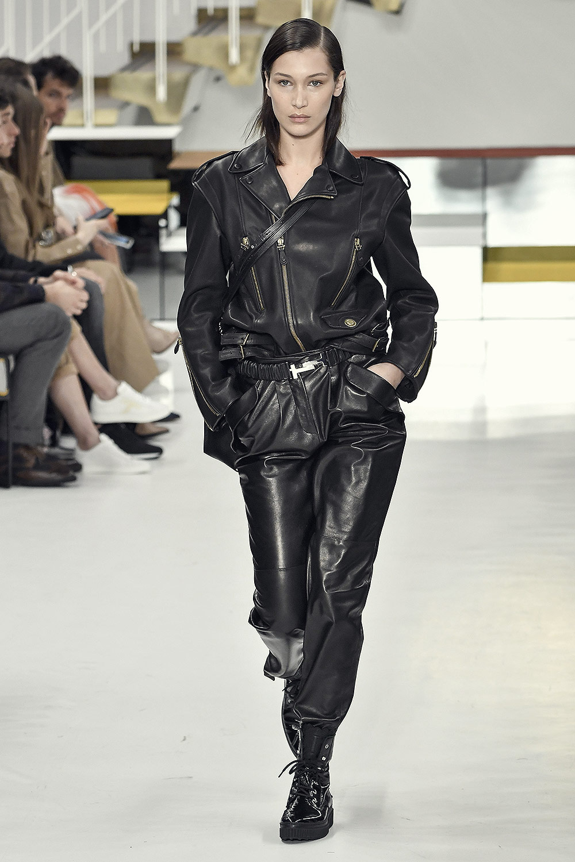 Bella Hadid walks for Tod's Fall Winter Show