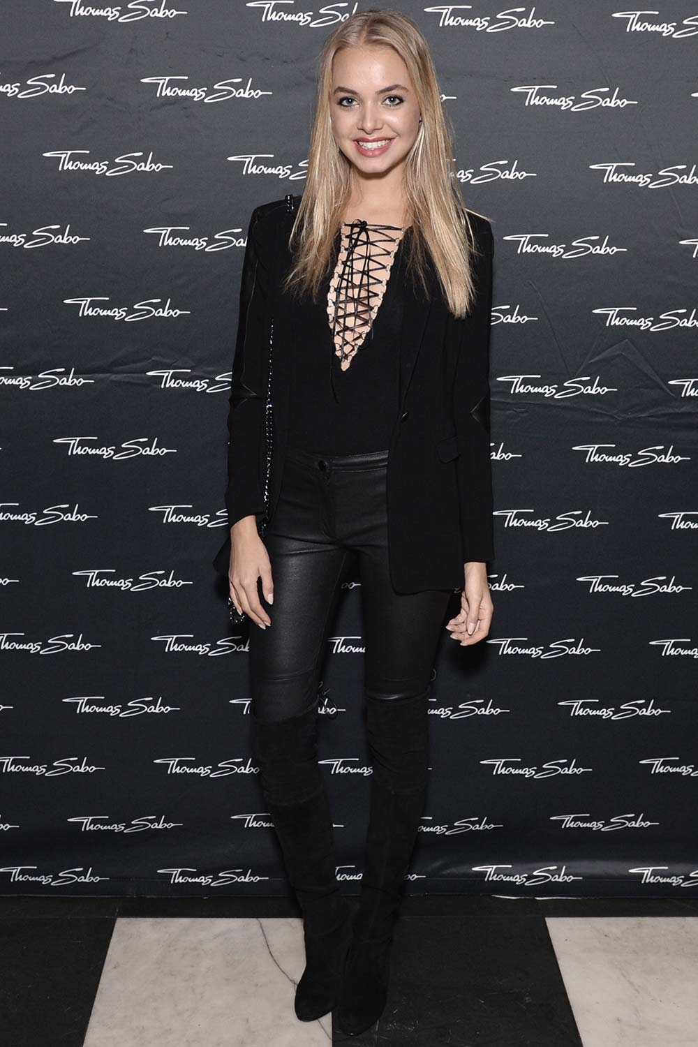 Bella Oelmann attends the Thomas Sabo flagship boutique grand opening