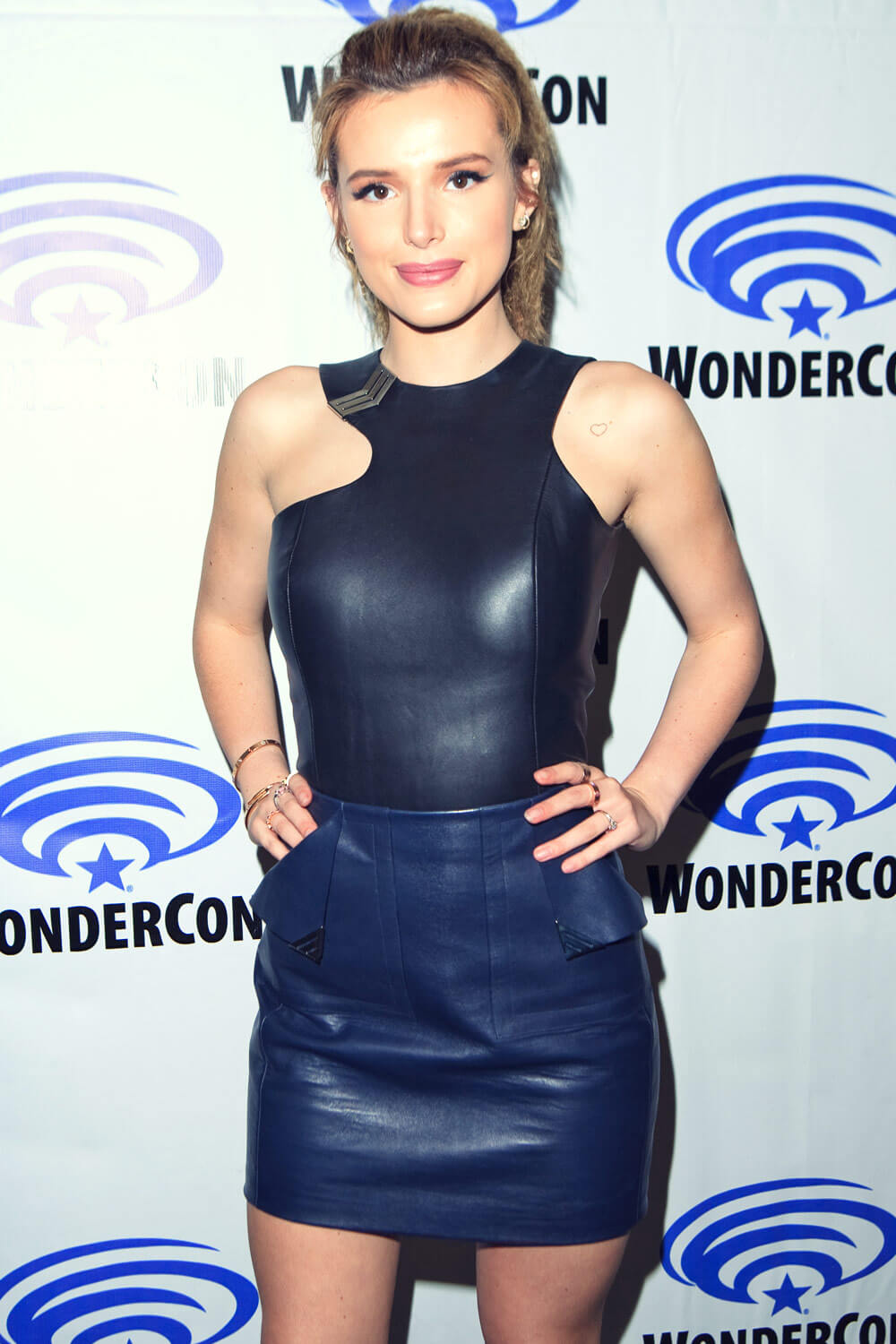 Bella Thorne attends Ratchet & Clank WonderCon Presentation