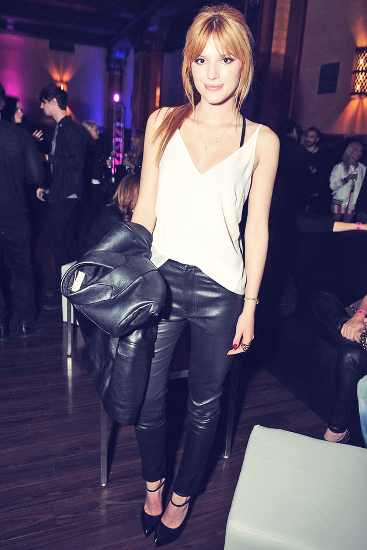 Bella Thorne attends Pre-GRAMMY Party