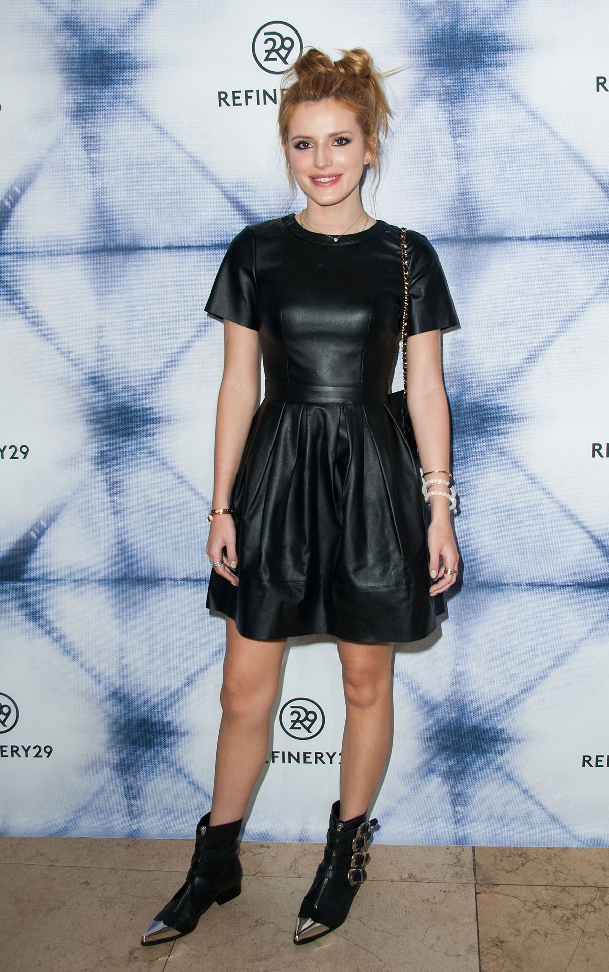 Bella Thorne attends Refinery29 Holiday Party