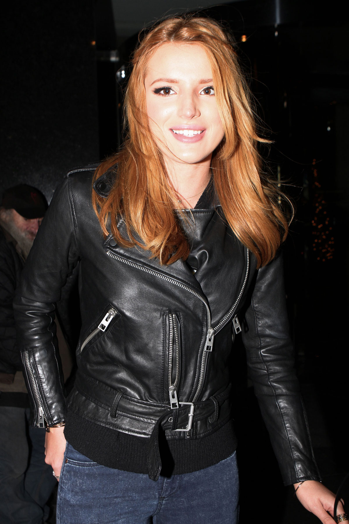 Bella Thorne Out In Nyc Leather Celebrities