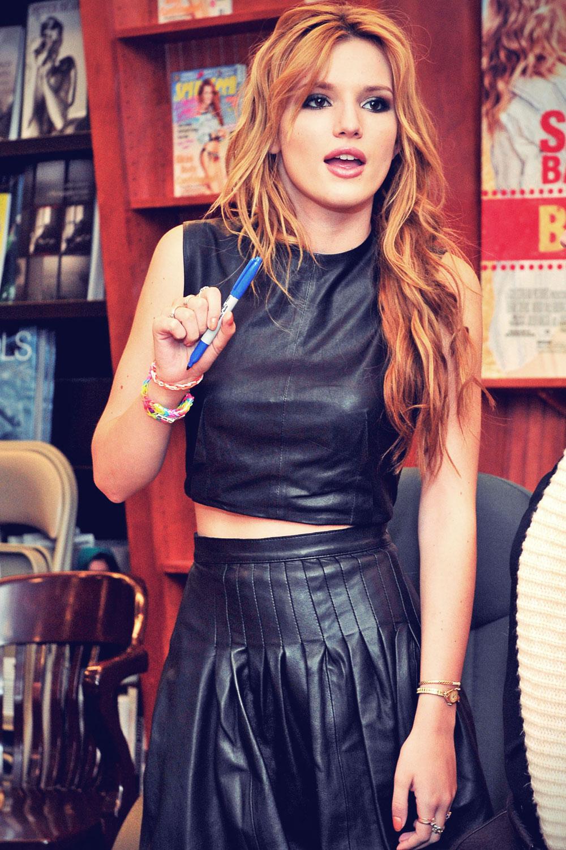 Bella Thorne promotes her June July 2014 Seventeen Magazine cover shoot