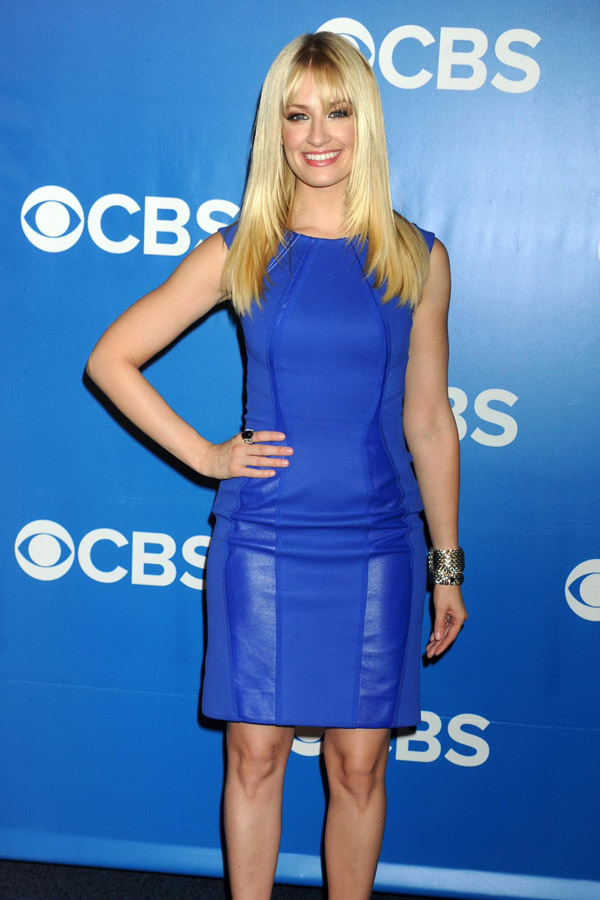 Beth Behrs at 2012 CBS Upfront, NYC - 16/05/12