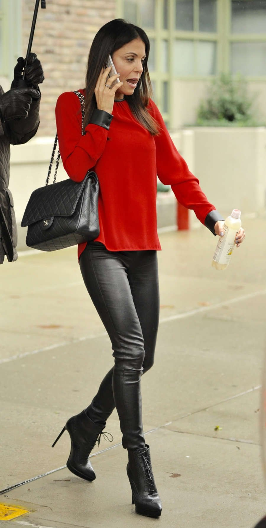 Bethenny Frankel out and abot in New York