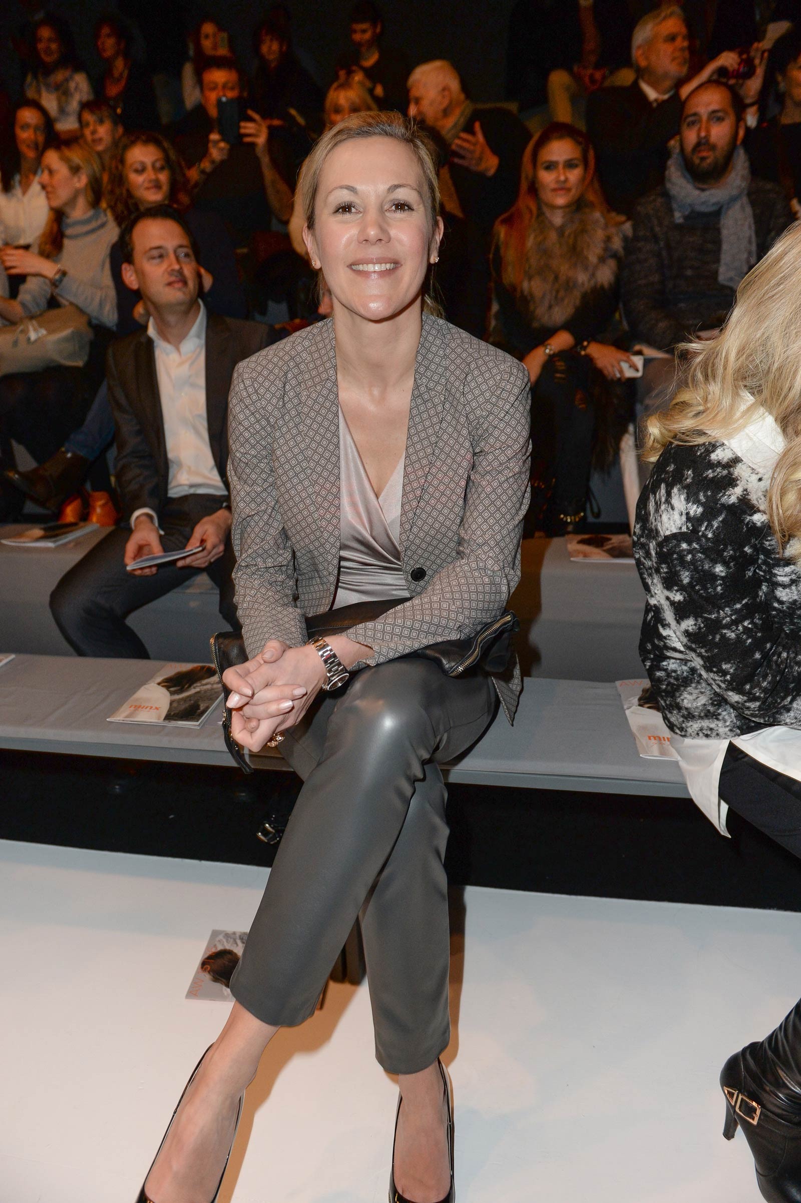 Bettina Wulff attends Merceses Benz Fashion Week
