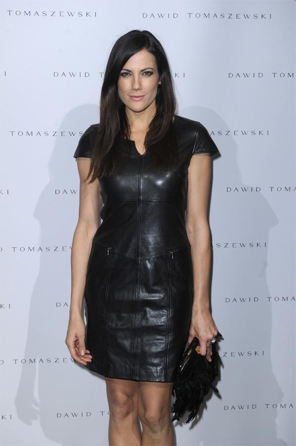 Bettina Zimmermann at Mecedes Benz Fashion Week