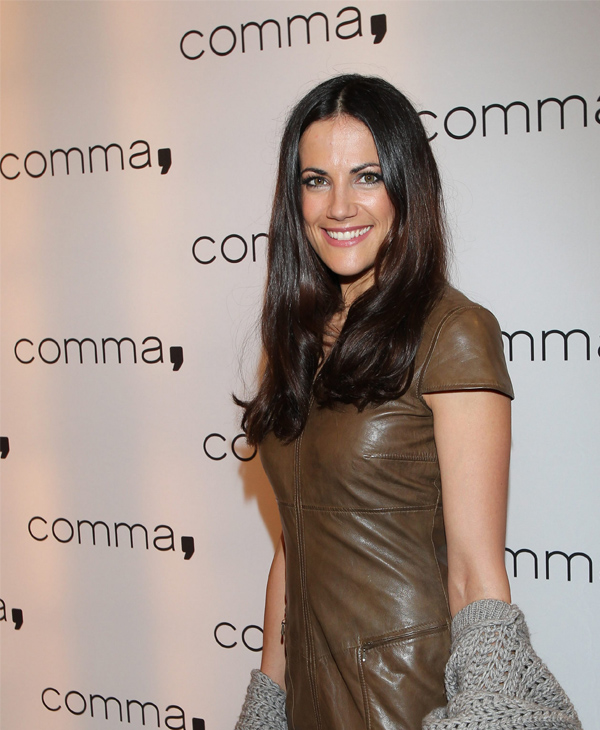 Bettina Zimmermann Re-Opening des Comma Stores