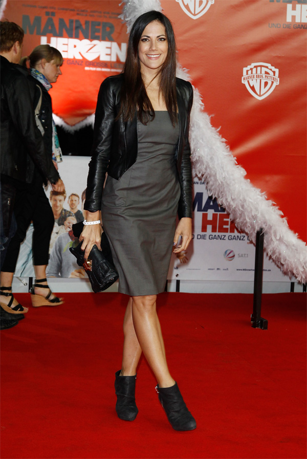 Bettina Zimmermann at movie premiere