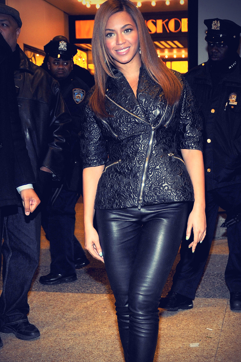 Beyonce at MTV TRL Total Finale