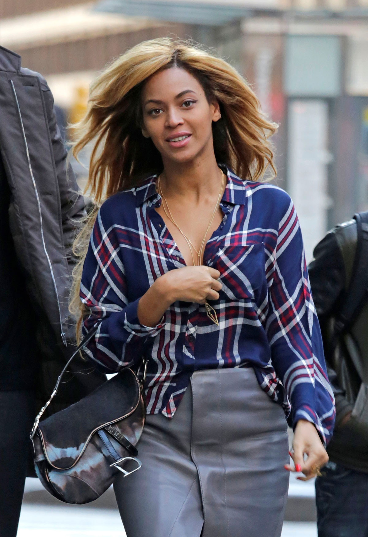 Beyonce out & about in NYC