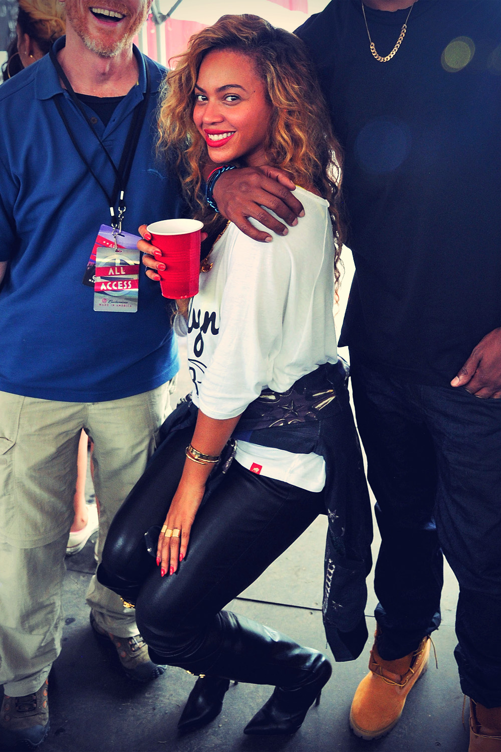 Beyonce Budweiser Made In America Festival Benefiting The United Way