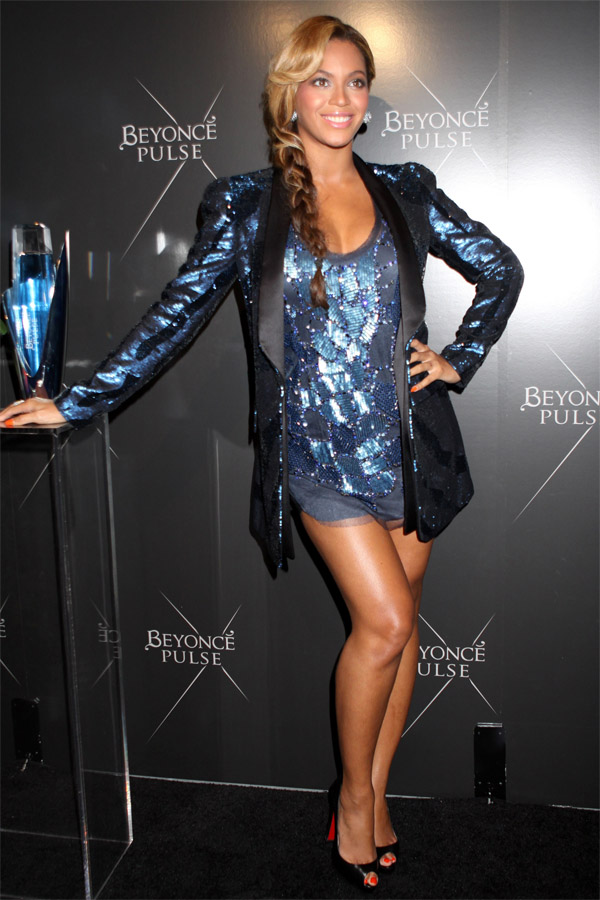 "Beyonce launches her new Fragrance ""Pulse"""