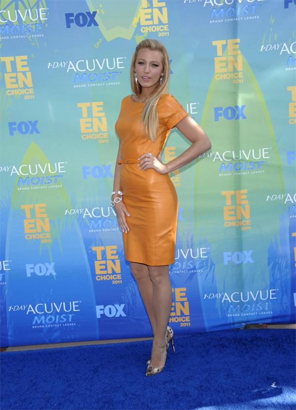 Blake Lively at Teen Choice Awards 2011
