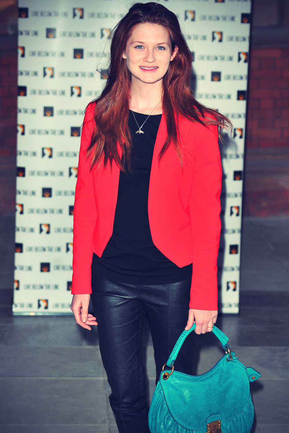 Bonnie Wright Live Below The Line charity