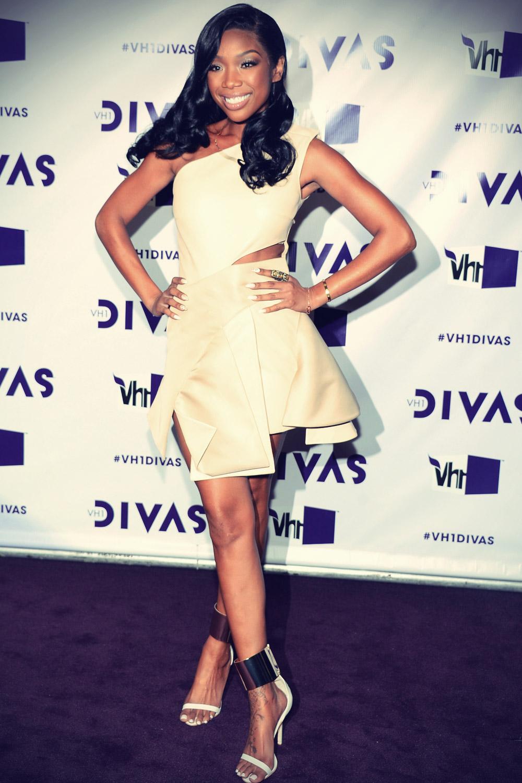 Brandy Norwood attends VH1 Divas 2012