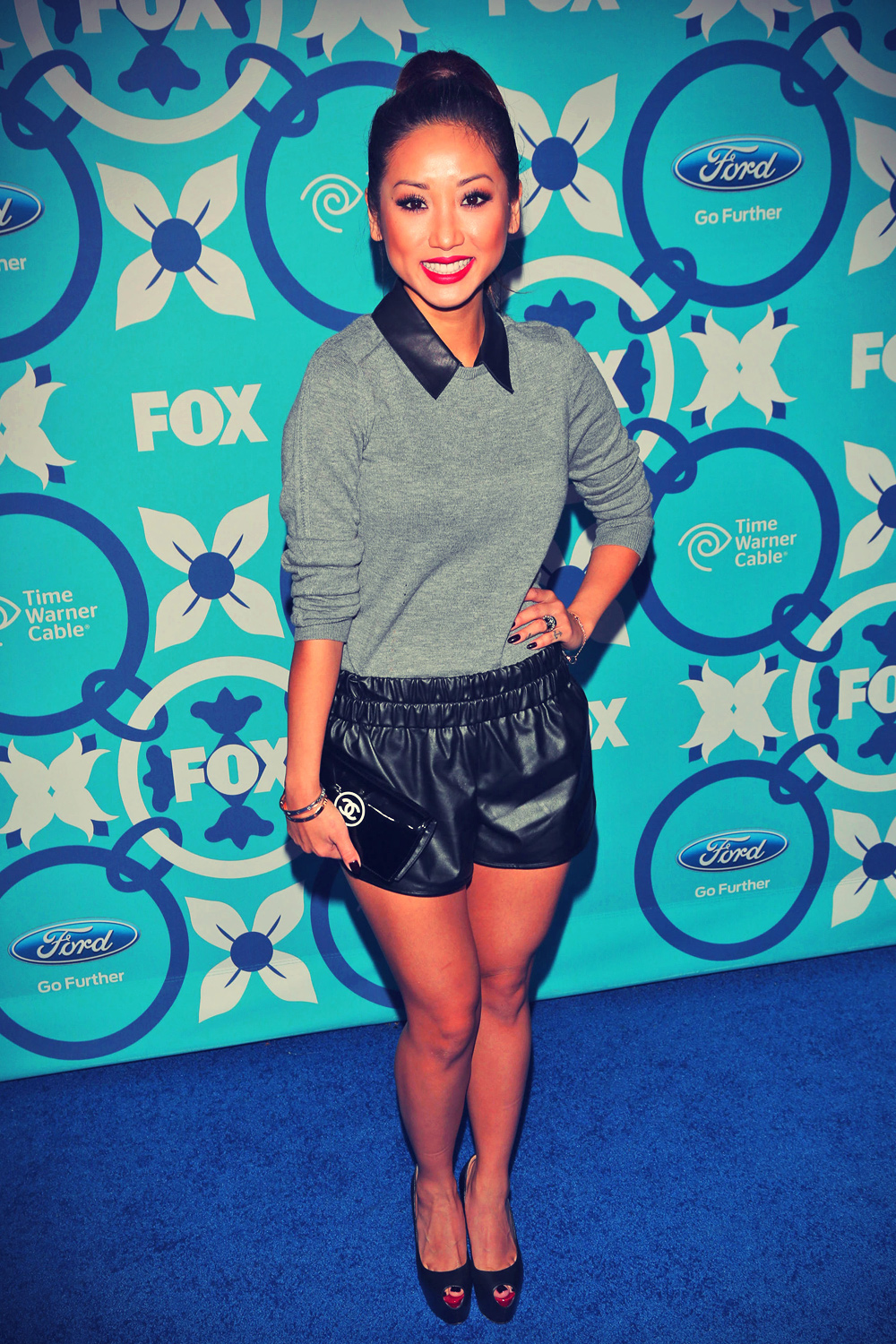 Brenda Song attends 2013 Fox Fall Eco-Casino Party